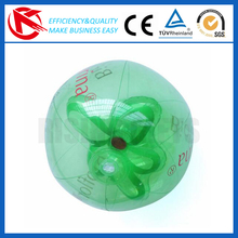 wholesale 16 inchs roll inside Inflatable Beach Ball with 3D bottle inside