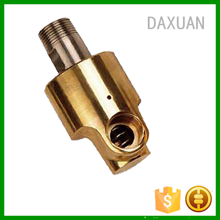 A quot male thread coolant rotary joint pipe fitting