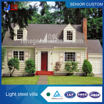 Hight Quality Prefabricated Homes Made In China, Well Designed  Prefabricated House, Prefab Villa