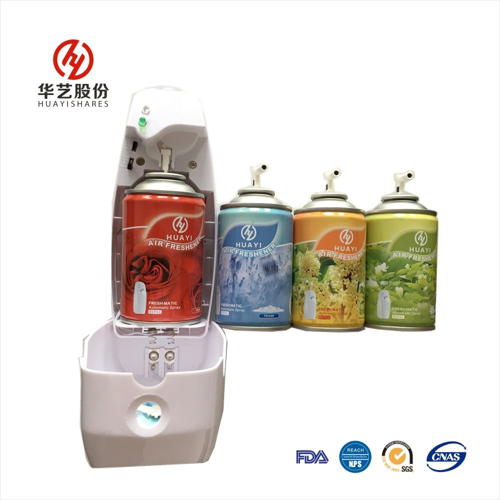 300ml Automatic Aerosol Dispenser Room/toliet/hotel Spray Air Freshener