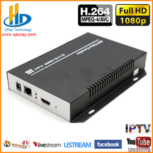 URay H.264 / H264 HDMI To IP RTSP RTMP UDP Video Encoder For IPTV, Live Streaming Broadcast, Video Streaming Server