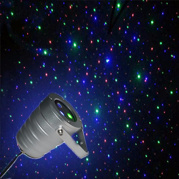 Elite Garden Laser Lights Intensity Motion RGB full color stars+ RF remote control