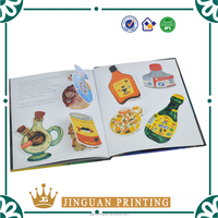 Top quality hardcover coloring custom printing children board book