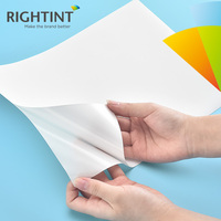 Inkjet Self Adhesive Waterproof Glossy White PP Paper Sticker Film