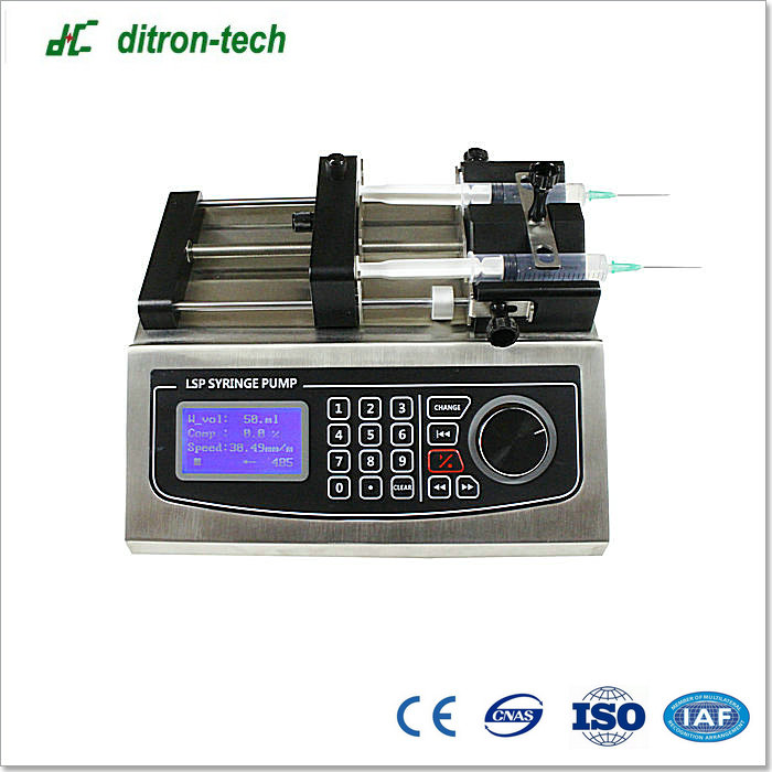 Factory Supply baoding rui chuang updated dual channels and professional supplier syringe pump China Supplier