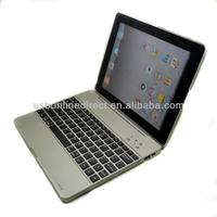 Ultra slim bluetooth aluminum keyboard for ipad 2 3 4 case cover with bluetooth keyboard