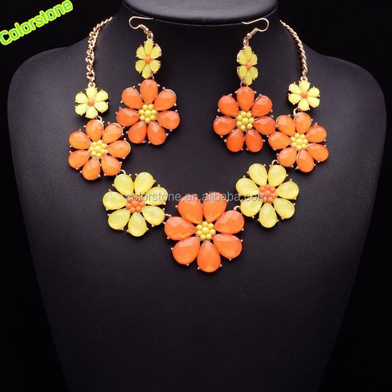 1set/lot statement jewelry sets for women Austrian crystal beatles necklaces & pendants drop earrings gift free shipping