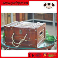 Wholesale wooden shipping wine gift box