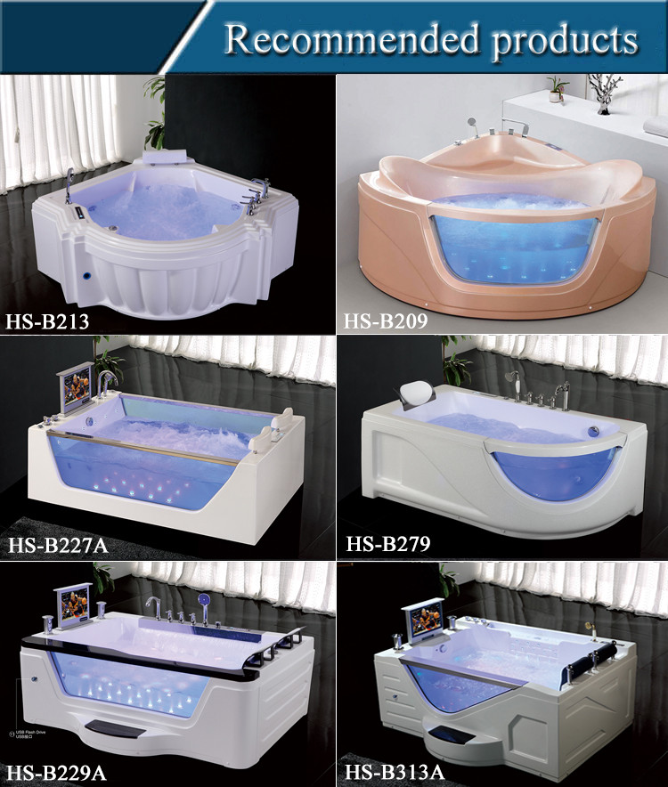 Hs 1832a best acrylic bathtub brands apollo massage for Top bathtub brands