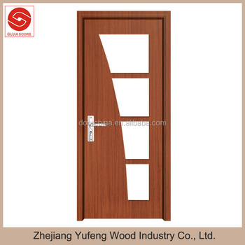 New Design Clear Glass Single Wooden Door Frame - Buy Single Wooden ...