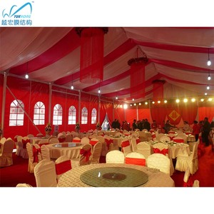 Storm-proof luxury roof linings wedding decoration tent 500