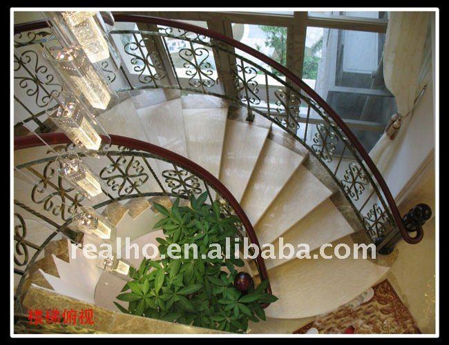diseo indoor espiral escaleras