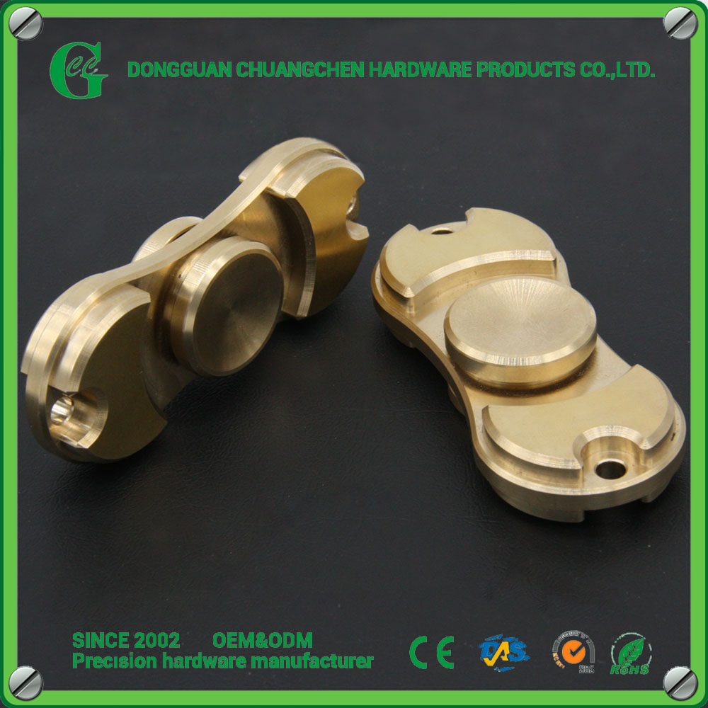 Hot sell CNC brass Fingertip gyro Finger spinning top