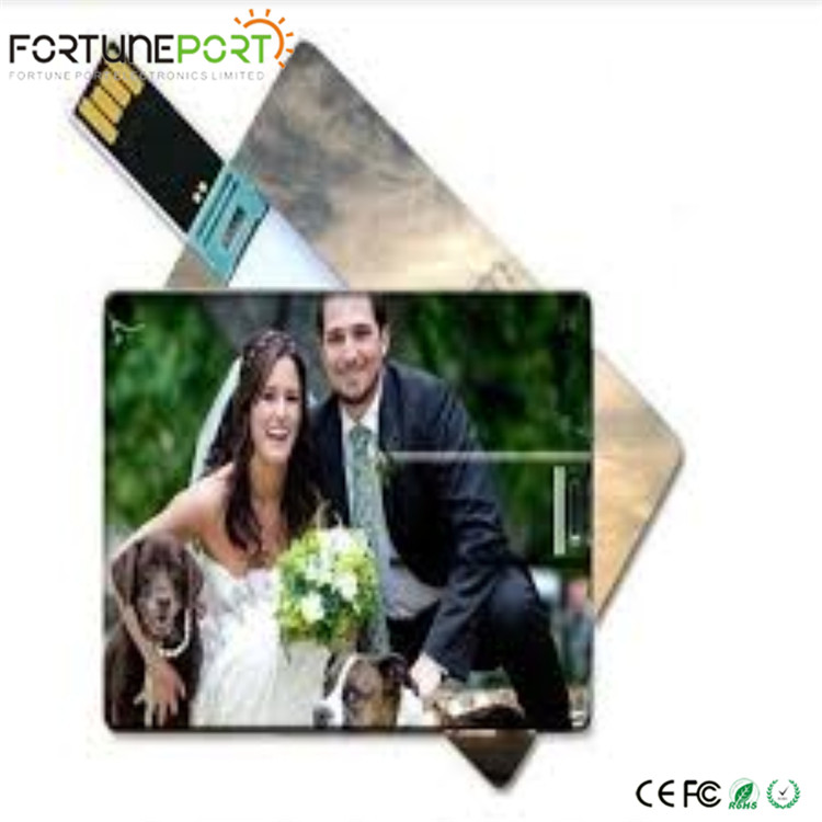 Custom usb drives no minimum order Wafer Usb Card creative flash drive 1gb pendrives with logo