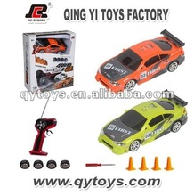 Super Cool Control Kid RC Toys 2012 New Design 1:24 4 Channels RC Four Wheel Drive Car