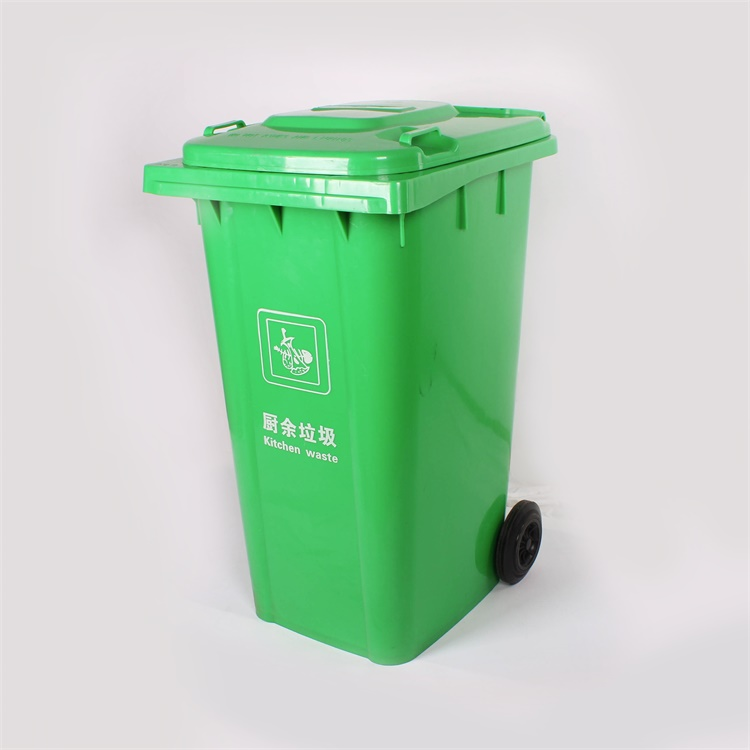 Hot Sale Plastic Bin 240l Outdoor Plastic Waste Bin With Wheels ...
