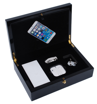 Glossy Lacquer Iphone Packaging Box For 8 Plus And Se Wood Box Iphone 8 -  Buy Iphone 8plus Packaging Box,Glossy Iphone Packaging Box,Wood Box Iphone  8