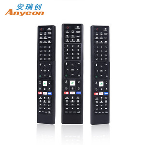 High Quality Black 57 Button Star Sat remote control for Satellite Receive  South Africa Market