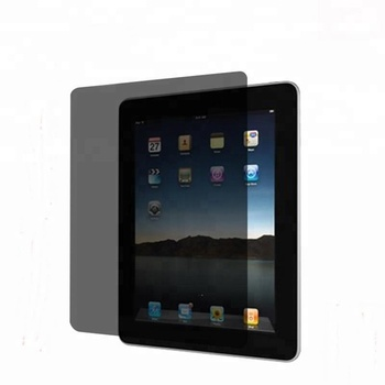 Full cover 9h anti spy privacy tempered glass screen protector for Apple Ipad