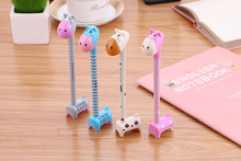 Cartoon Colorful Donkey standing Ball Ballpoint Pens BallPen For School Stationery Creative Gift School Supplies Capsule