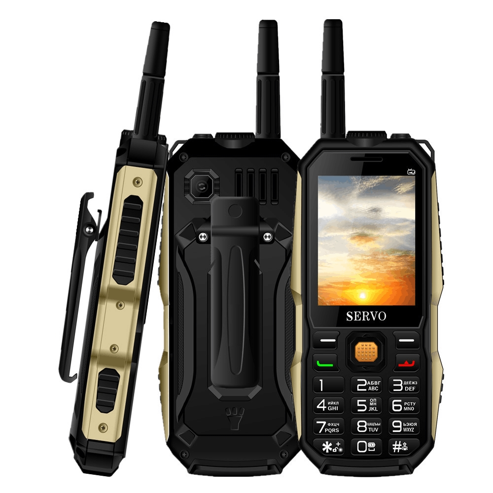 SERVO P20 2.4 inch 3 SIM Cellphone TV Voice Changing mobile phones