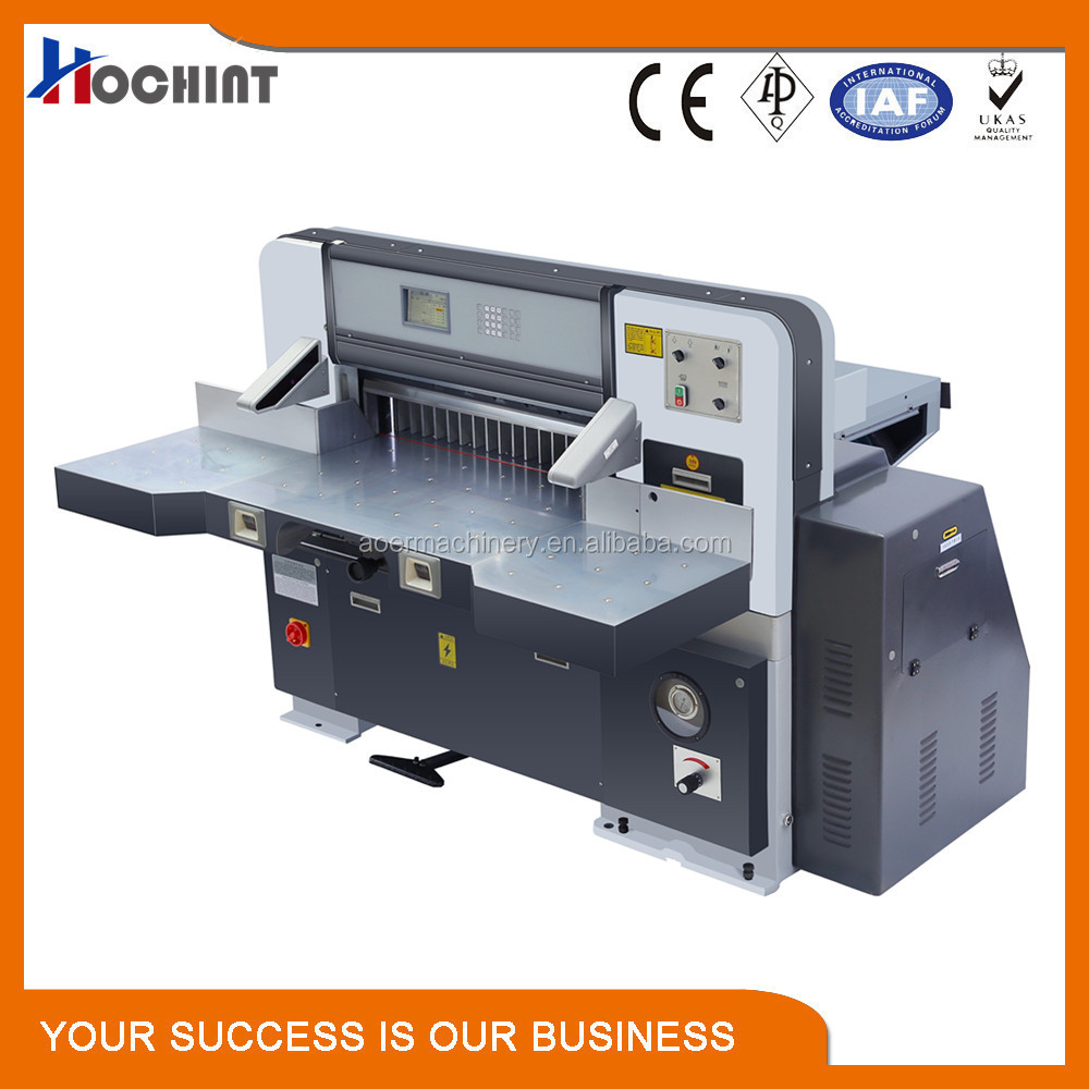 QZK-780 computerized high quality guillotine plastic cutter