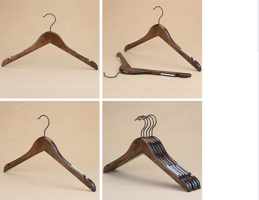 wholesale wooden dress/clothes/pant hanger set series stand