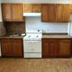 America poplar unfinished solid wood kitchen cabinet