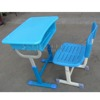 cheap price adjustable kids plastic attached school desks and chair
