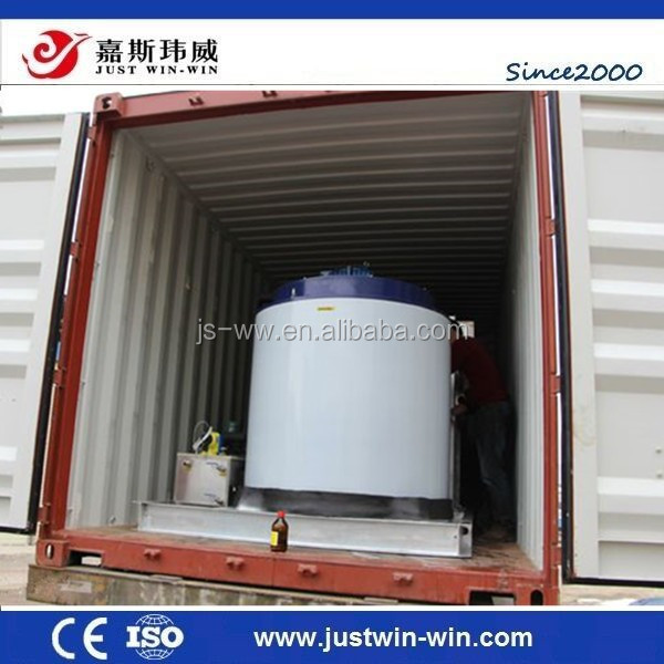 30 ton containerized ice plant flake ice maker machine commercial/ industrial used construction concrete