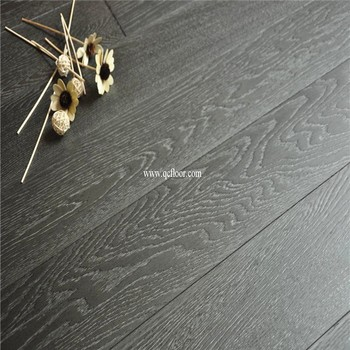 Indoor Use Dark Grey Forester Solid Oak Flooring