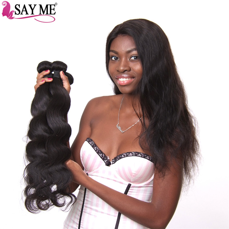 Indian raw human Body wave mink hair weaves japanese synthetic weave