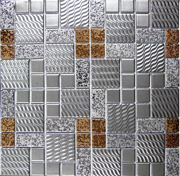 Factory supply 23x23mm 23x48mm porcelain mosaic for tile prices the smart tiles