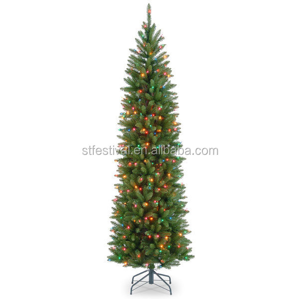 7 Foot Pre Lit Slim Christmas Tree