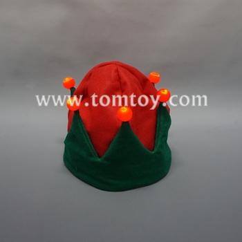 0b4e0c568c7e5 Funny Light Up Christmas Hat