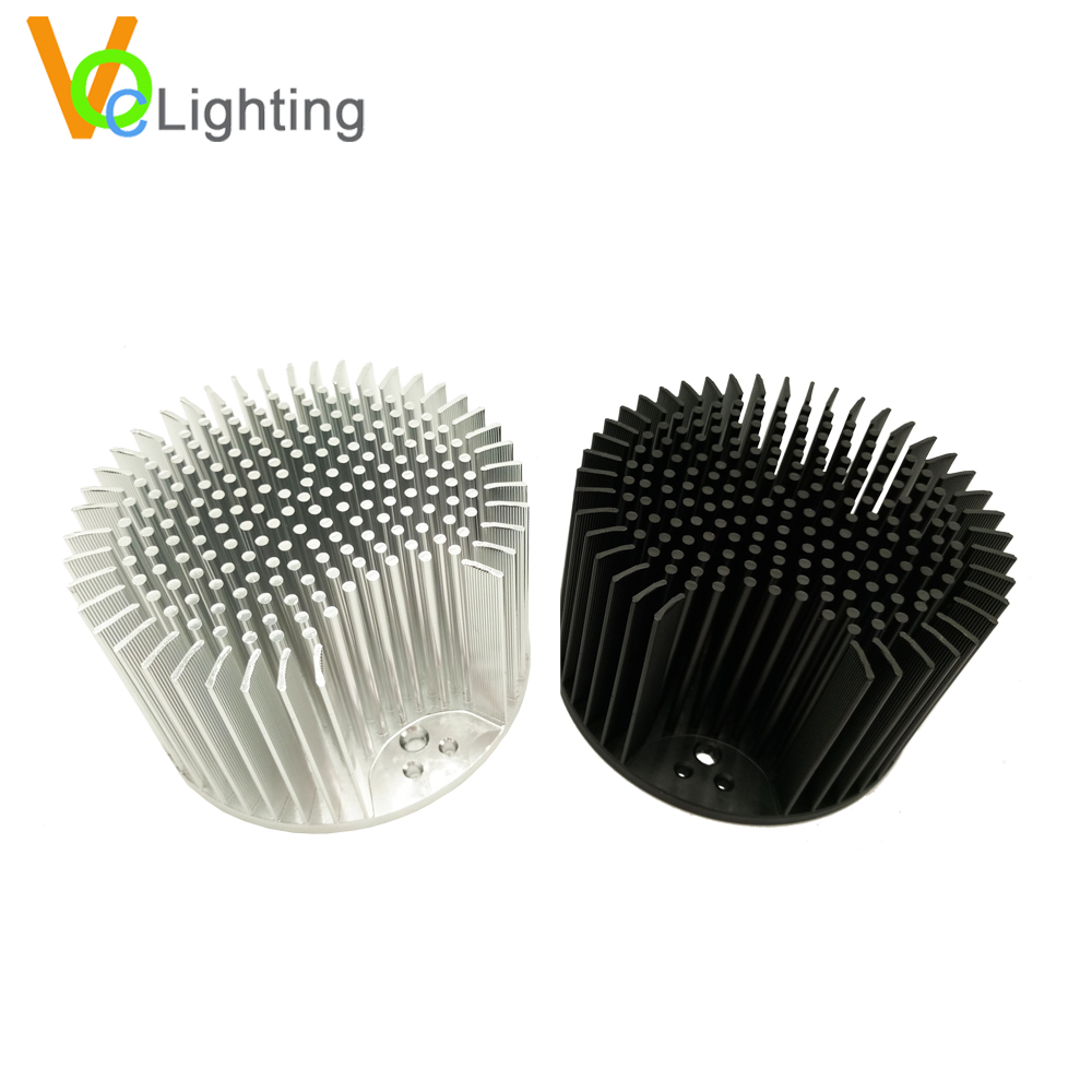 Cold Forged Aluminum 90MM 110MM LED CXB3590 Pin Fin Heatsink