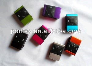 Hot selling colorful square mini mp3 player with 2GB 4GB 8GB with music free download