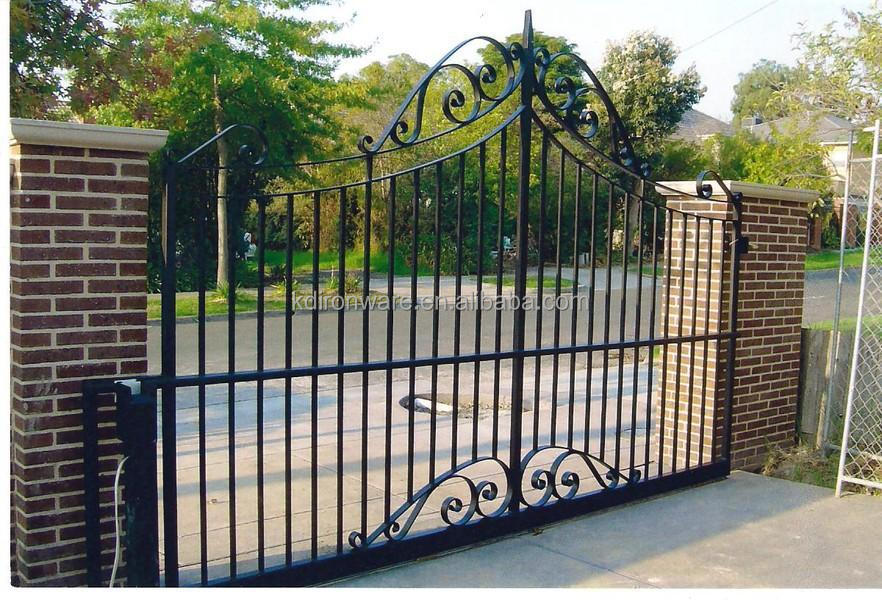 Fencing trellis gates type decorative wrought iron