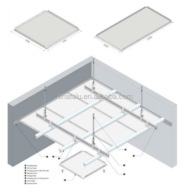 Special Shape Aluminum Ceiling/aluminum False Ceiling/arc Shape ...