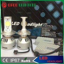 New Product, Generation 4th 3200LM 36W CREE H4 LED Headlight Bulbs