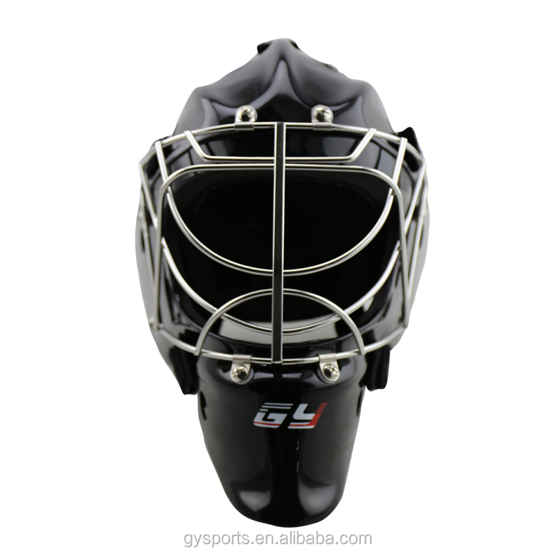 Ce Approval Goalie Hockey Mask Ice Hockey Goalie Helmet Cat Eye Cage