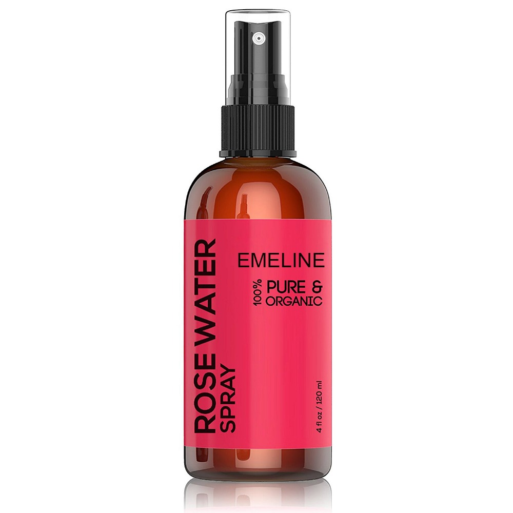Private Label Natural and Pure Rose Water Spray for Moisturizing
