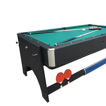 512208caebf Kbl-b1204 Full Rotating 4 In 1 Multi-game Tables Pool Table