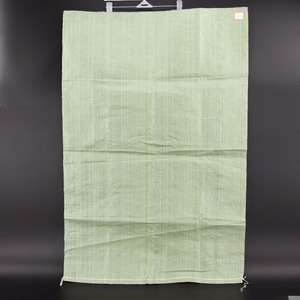 Cheap price green paddy rice grain bag 50kg recycled pp woven bags sacks