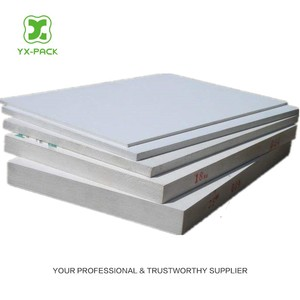 10mm White flame proof pvc foam