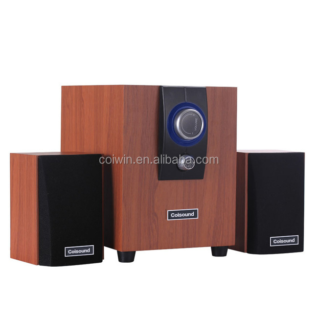 2014 new style 2.1 speaker with big power support dvd cd usb port and karaoke