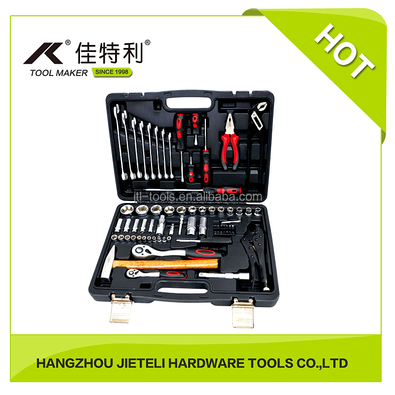 6.3mm, 12.5mm 72pcs Professional Socket Set with Spanners