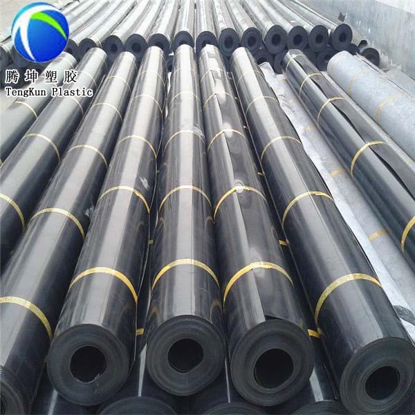 Black Rolls Liner Gse 1.5mm Hdpe Geomembrane Price