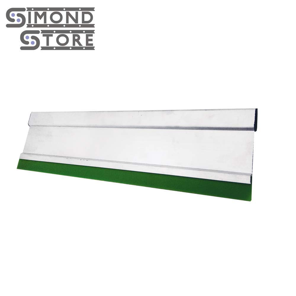 """Green 15/"""" Aluminum Handle with 70 Duro Squeegee"""