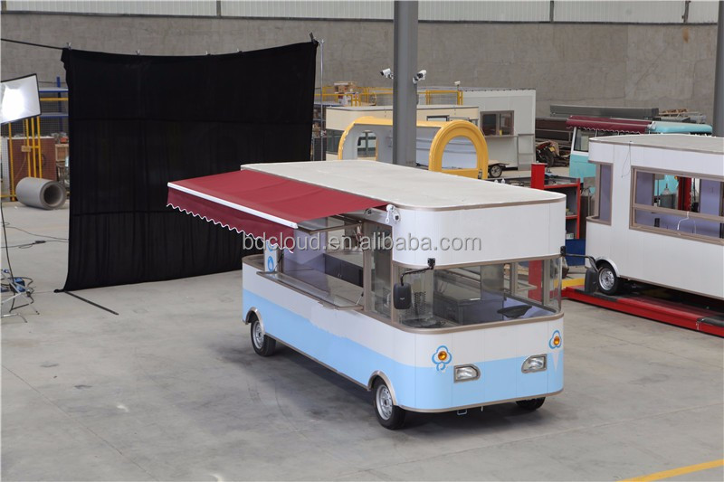 Middle East Asia hot selling and 50 units April booking mobile food carts / mobile food van for sale